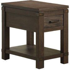 Colfax Chairside Table by 17 Stories