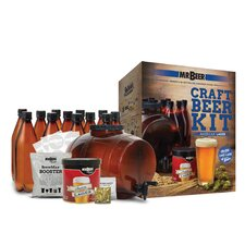 Mr. Beer American Lager Complete Craft Beer Making Kit