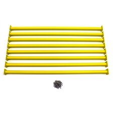 "41"" Steel Monkey Bar Ladder Rungs (Set of 8)"