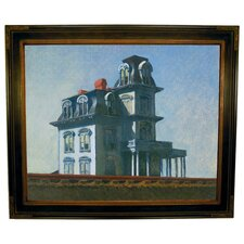 'The House by the Railroad' by Edward Hopper Framed Painting Print
