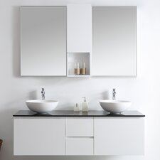 Ferrara 60 Double Vanity Set with Mirrors by Vinnova