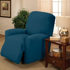 Stretch Jersey Solid Large Recliner Slipcover