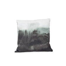 Printed Mali Cotton Throw Pillow