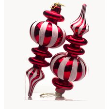 Hanging Finial Candy Ornament (Set of 2)