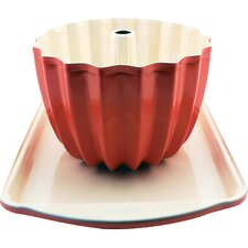 CookNCo Cookie Sheet and Bundt Pan Set (Set of 2)