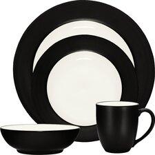 Colorwave Rim 16 Piece Dinnerware Set, Service for 4