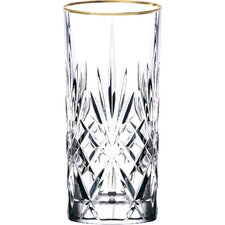 Siena Crystal Water/Beverage/Ice Tea Glass (Set of 4)