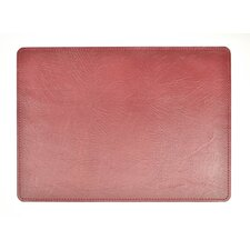 Andeline Fire Buffalo Leather Placemat