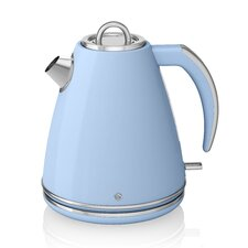 Retro 1.5L Stainless Steel Cordless Kettle