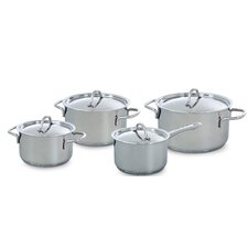 Profiline 4 Piece Stainless Steel Cookware Set