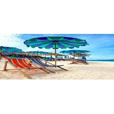 Scenic Beach Photographic Print on Wrapped Canvas