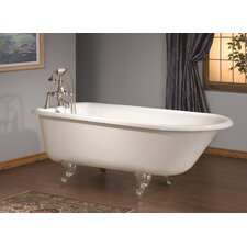 54 x 30 Soaking Bathtub with Single Drilling by Cheviot Products