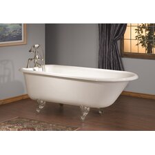 54 x 30 Soaking Bathtub with No Faucet Holes by Cheviot Products