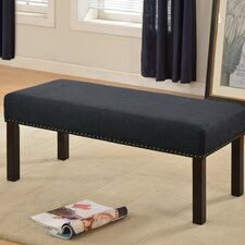 Fabric Upholstered Bedroom Bench by Container