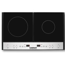 """27"""" Induction Cooktop with 2 Burners"""