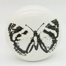 Butterfly Mushroom Knob (Set of 2)