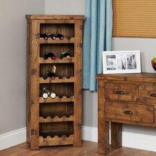 Heyford Rough Sawn Oak 24 Bottle Wine Rack