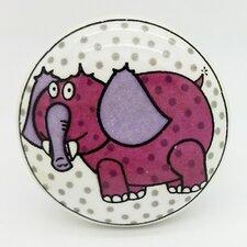 Jumbo Elephant Mushroom Knob (Set of 2)