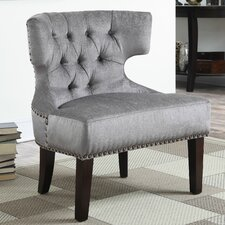 Katherine Tufted Barrel Chair by AC Pacific
