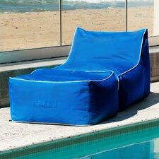 Sunbrella Bean Bag Lounger Set by Hip Chik Chairs