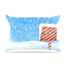 Snap Studio 'North Pole' Snow Pillow Case