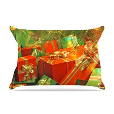 Snap Studio 'Wrapped In Cheer' Presents Pillow Case