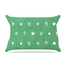 Snap Studio 'Cheery' Mint Pillow Case