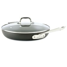 """12"""" Non-Stick Frying Pan/Skillet with Lid"""