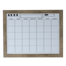beatrice magnetic wall mounted whiteboard
