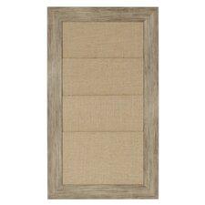 Beatrice Framed Wall Organization Bulletin Board,1.11' x 1.1'