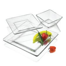 Tempo 12 Piece Dinnerware Set, Service for 4
