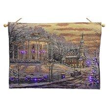 Fibre Optic Christmas Eve Tapestry