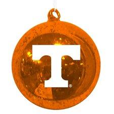 NCAA Mercury Glass Ornament