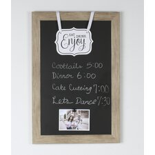 """Beatrice Magnetic Wall Mounted Chalkboard, 18"""" x 27"""""""