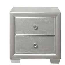 Lasne 2 Drawer Nightstand by House of Hampton