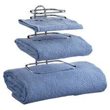 Two Guest Wall Mounted Towel Rack