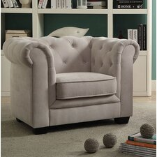 Brayden Tufted Youth Chestefield Chair by Viv + Rae