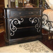Sorrento 1 Drawer Nightstand by Eastern Legends