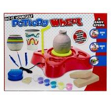 Deluxe 14 Piece Pottery Wheel Craft Set by Gener8