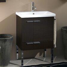 Simple 24 Single Bathroom Vanity Set by Iotti by Nameeks