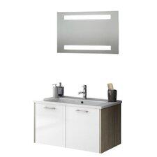 Nico 34 Single Bathroom Vanity Set with Mirror by ACF Bathroom Vanities