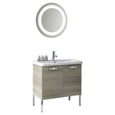 City Play 32 Single Bathroom Vanity Set with Mirror by ACF Bathroom Vanities