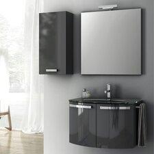 Crystal Dance 30 Single Bathroom Vanity Set with Mirror by ACF Bathroom Vanities