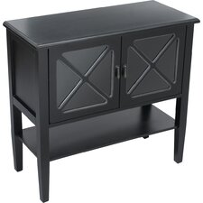 2 Door Cabinet with Shelf by AA Importing