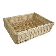 Straight-Sided Willow Basket