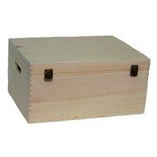 Unvarnished Wooden Box
