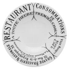 Brasserie Butter/Jam Round Platter (Set of 4)