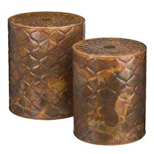 Metal Garden Stools Youll Love Wayfair