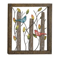 Birds in the Woods Wall Decor