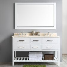 Foligno 60 Double Vanity Set with Mirror by Vinnova